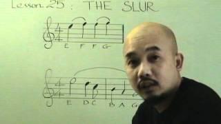 Nhạc lý căn bản bài 25( luyến)