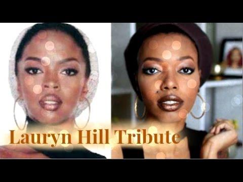 Lauryn Hill Tribute + GRWM 90s Makeup Inspiration  Keisha Charmaine