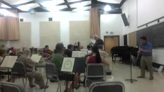 Mozart Clarinet Concerto (K622), III. Rondo, allegro on basset clarinet