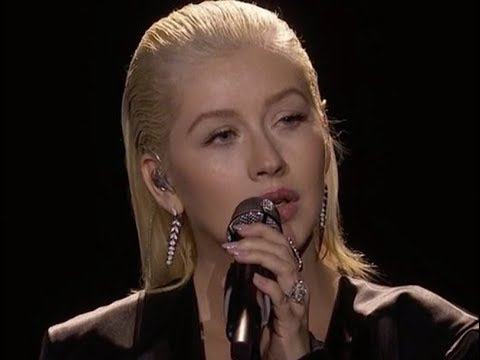 Christina Aguilera Honors Whitney Houston With Bodyguard Performance At AMA's