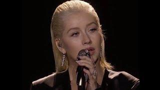 Video Christina Aguilera Honors Whitney Houston With Bodyguard Performance At AMA's download MP3, 3GP, MP4, WEBM, AVI, FLV November 2017