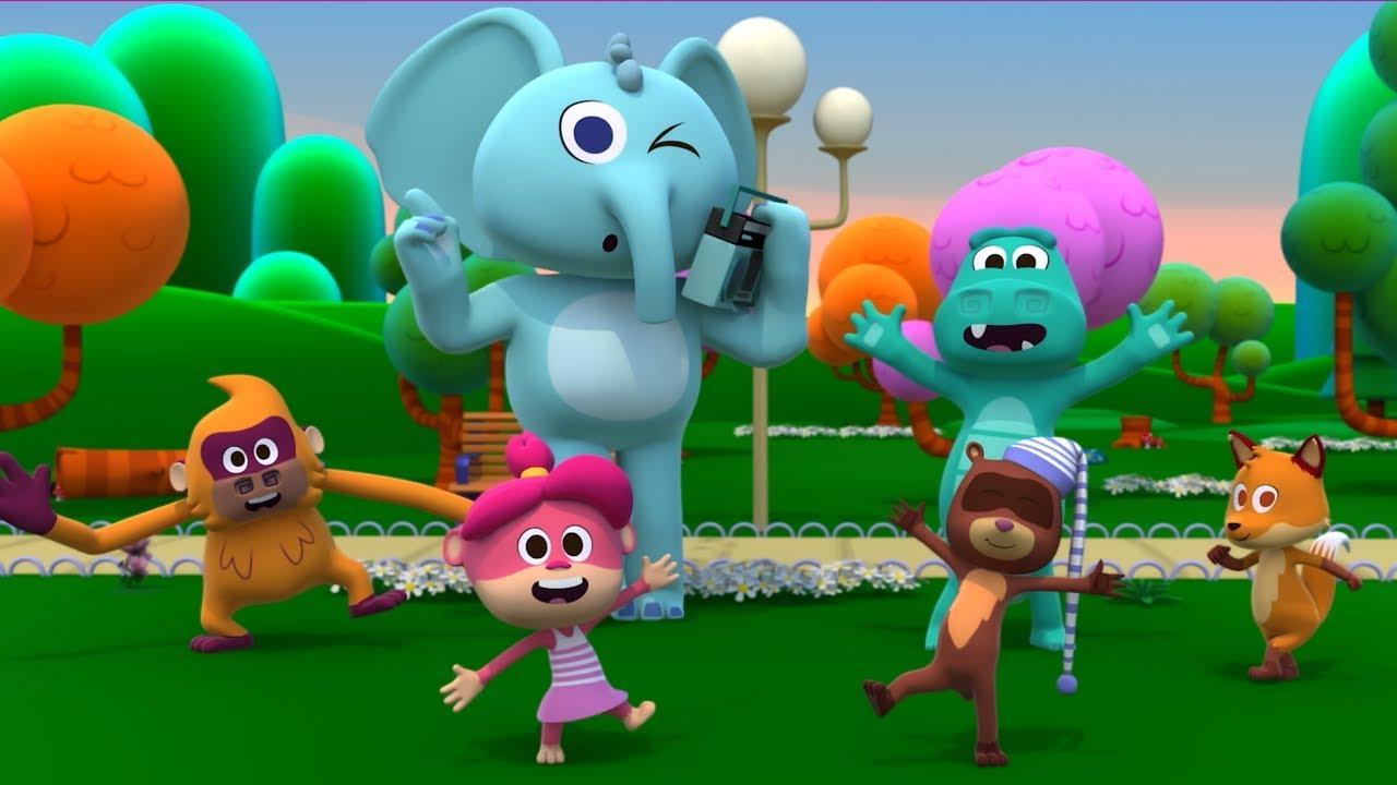 Juguemos En El Zoo - Canciones del Zoo 5 | El Reino Infantil