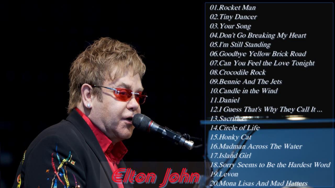 Elton John Greatest Hits Full Album 2017 - Elton John Best ...