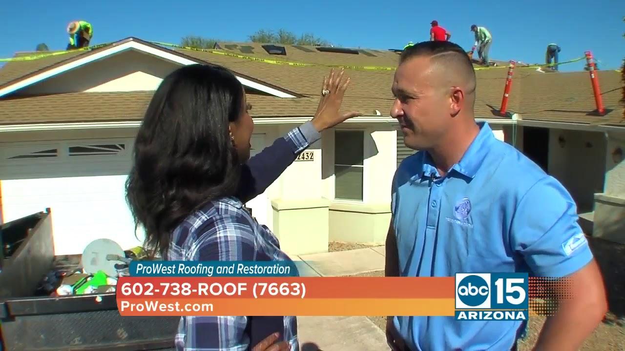 Prowest Restoration Phoenix Roof Restoration Disaster Response