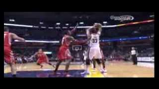 Marc Gasol shoves Patrick Beverley, Dwight Howard responds