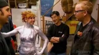 Repeat youtube video Kari Byron in silver bikini
