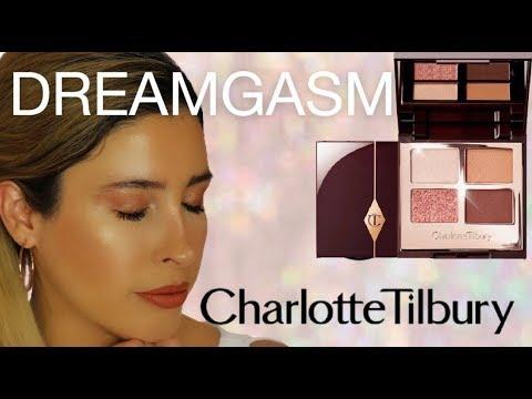NEW! Charlotte Tilbury DREAMGASM Eyeshadow Palette Quad | Swatches Demo Review Comparisons Tutorial thumbnail