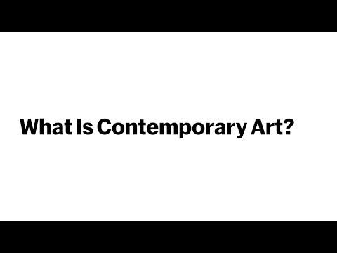 What Is Contemporary Art? | New Course from The Museum of Modern Art | SIGN UP TODAY!