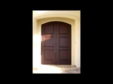 Custom Mahogany Exterior Doors | Impact Wood Doors | Interior Doors |  Contemporary Entry Doors