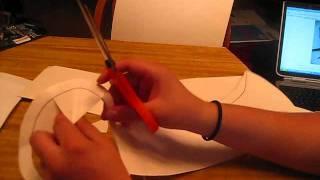 how to make sasuke's demon wind shuriken