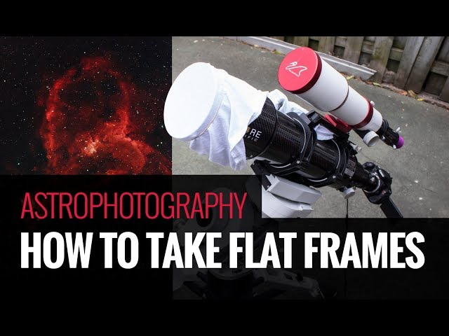How to Take Flat Frames for Astrophotography [The Easy Way ...
