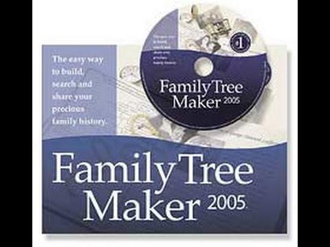 family tree maker 2005 fix your not responding program now youtube