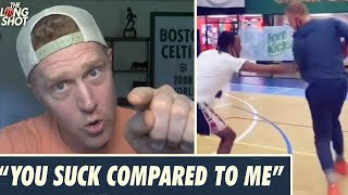 No, You Can't Bęat An NBA Player One-On-One | Brian Scalabrine on Amateurs Challenging Him