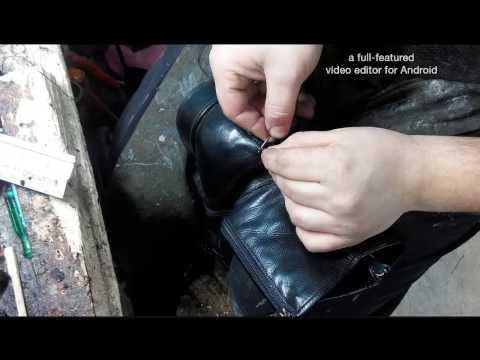 Замена подошвы на обуви своими руками