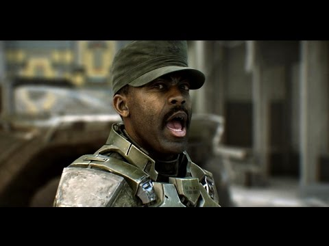 "FUNNY Sgt. Johnson (Halo 2 Anniversary) Different Speeches ""Metropolis"""