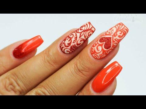 Valentines nails art / Sunflower Professional