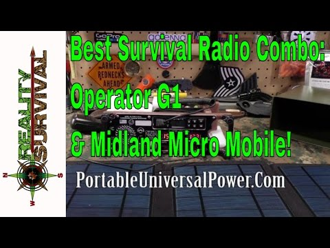 Best Survival Radio Combo: The Operator G1 & Midland Micro M