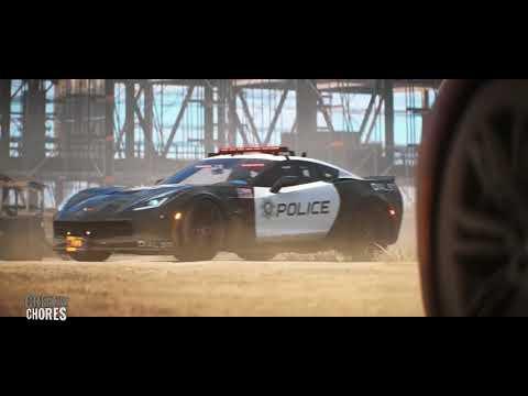 Kartoos BMW vs Police Chase