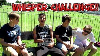 Whisper Challenge !