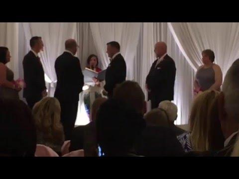 Patrick Carroll & Dennis Frank Wedding