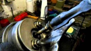 čištění turba octavia - turbo Garrett GT1749VA