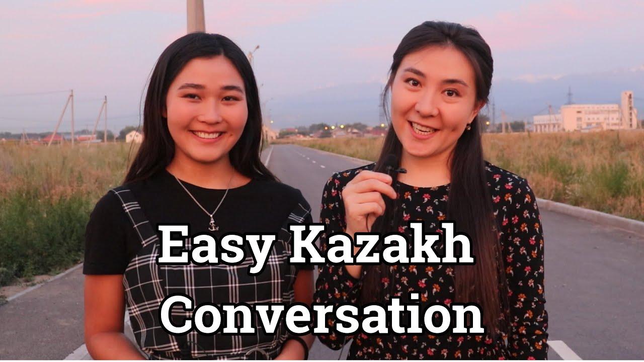 Easy Kazakh Conversation - Dialogue