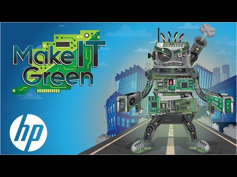 HP Singapore Make-IT-Green Campaign | Sustainable Impact | HP