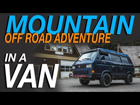 Mountain Off Road Adventure - Living The Van Life