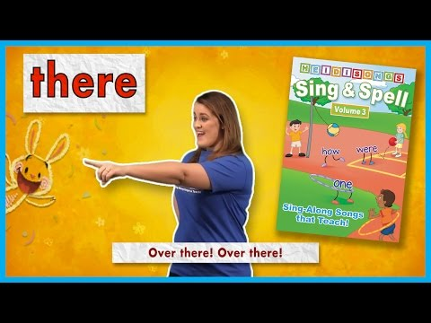 There - Sight Word Song | From Sing & Spell Vol. 3