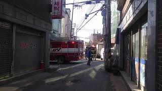 Firefighters are fast in Korea. O