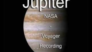 Jupiter - NASA - Voyager - Recording (The Best Video)