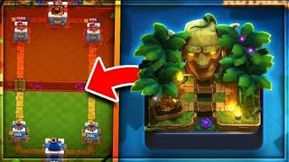 Clash Royale UPDATED 2017 Best Deck For JUNGLE ARENA 9 GAMEPLAY