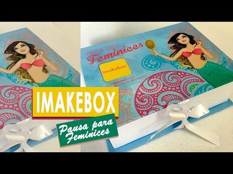 IMAKEBOX | Minha primeira caixa de assinatura por Virgínia Gaya