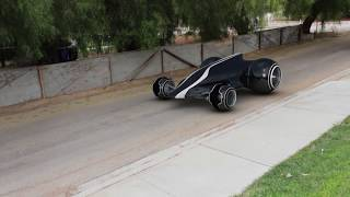 My Real Life Tron Car (Cinema 4D, PFTrack Test) - FREE MODEL DOWNLOAD