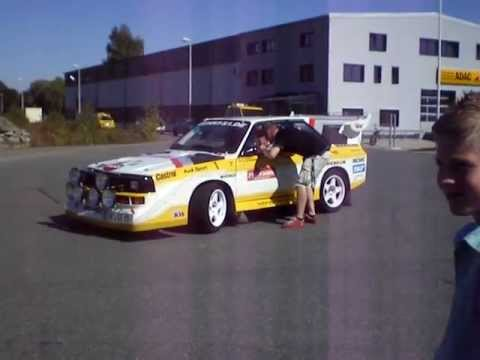 Gehrt S1 - Audi Sport Quattro S1 Replica Demonstration Drive in Germany
