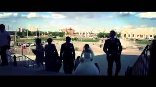 Свадьба в Актобе и кортеж Руслан и Акгул