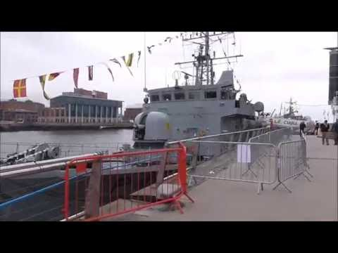 LÉ Ciara (P42) Irish Navy Patrol Ship Belfast Maritime Festival