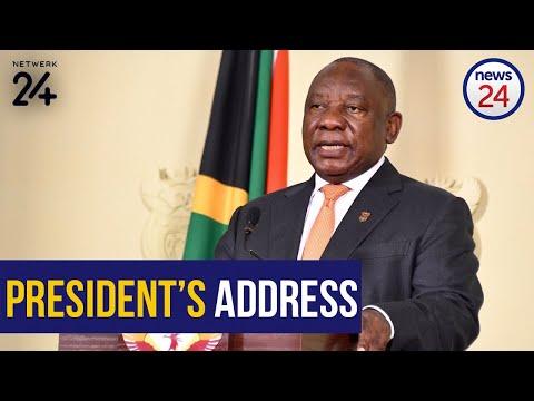 WATCH LIVE | President Cyril Ramaphosa Addresses The Nation On Lockdown Day 59