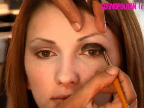 maquillage des yeux le smoky eye tape par tape youtube. Black Bedroom Furniture Sets. Home Design Ideas