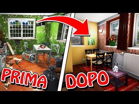 TRASFORMIAMO UNA CASA BRUTTA IN UNA VILLA! 🏰 House Flipper #3