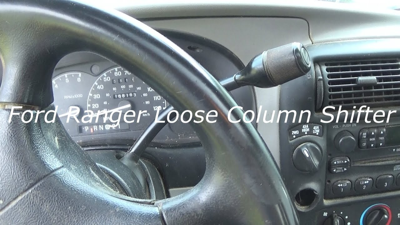 1999 Ford Ranger Loose Column Shifter How To Fix Diy Youtube