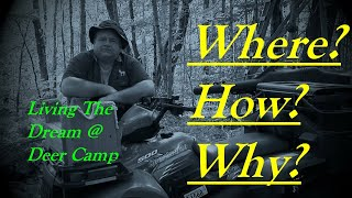 Jock Stream Deer Stand The Rustic Log Cabin Deer Hunting Camp