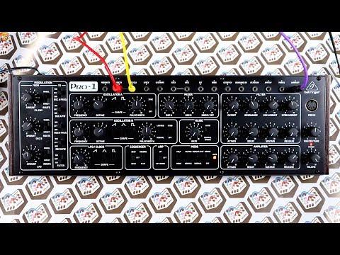 Behringer Pro-1 *prototype* // Sound Demo + Modulation & Melody Exploration
