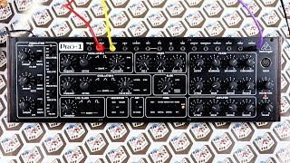 Behringer Pro-1 *prototype* // Sound demo + modulation & melody exploration