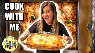 HOW TO MAKE LASAGNA with this EASY LASAGNA DINNER RECIPE | PHILLIPS FamBam COOK WITH ME