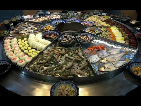 Chinese Seafood Steam Table