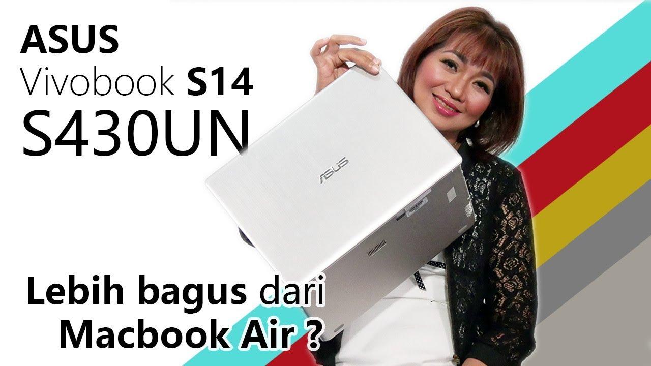 Mending Macbook Air 2018 atau Ini ? ASUS Vivobook S14 S430UN Unboxing &  Review