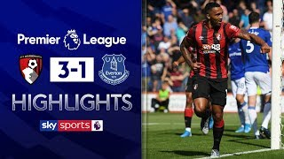Callum Wilson scores superb lob | Bournemouth 3-1 Everton | Premier League Highlights