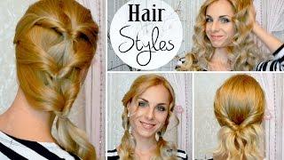 Простые ПРИЧЕСКИ на КАЖДЫЙ день / Summer HairStyle(Подписаться на мой канал: http://www.youtube.com/subscription_center?add_user=mixstylecappuccino ♥ Мой Instagram ..., 2014-07-05T08:00:02.000Z)