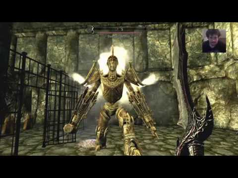 Playing with god mode ring in skyrim